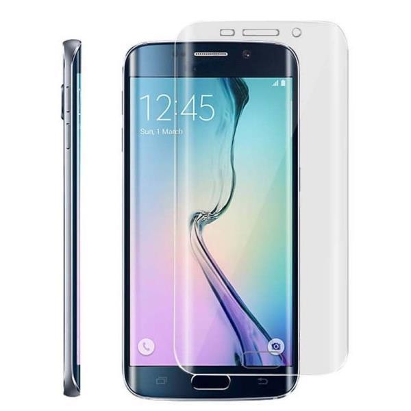 ExLine Samsung G925F Galaxy S6 Edge ekrāna aizsargplēve Visam ekrānam Glancēta