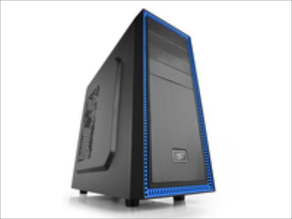 Deepcool TESSERACT BF Midl tower, USB 3.0 ,  black inside, w/o PSU, mATX / ATX Datora korpuss