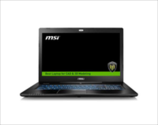 MSI WS72-6QJ16H21 17,3 i76700HQ/16GB/1TB256GB/M2000M/WIN10P Portatīvais dators