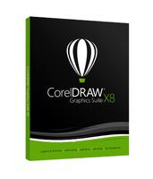 CorelDRAW Graphics Suite X8 Lic (5 - 50) programmatūra