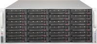 Supermicro 4U,1280W PS (red. Plat. Level) 24x 3.5 Hot-swap drive bays,