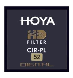 FILTER POLARIZING HOYA PL-CIR HD 52 MM UV Filtrs