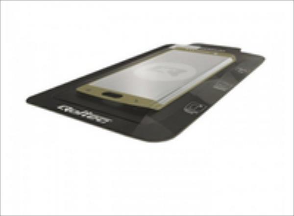 Qoltec Premium Tempered Glass Screen Protector for Samsung S7 edge   full cover aksesuārs mobilajiem telefoniem