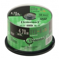 DVD-R Intenso [ cake box 50 | 4.7GB | 16x ] matricas