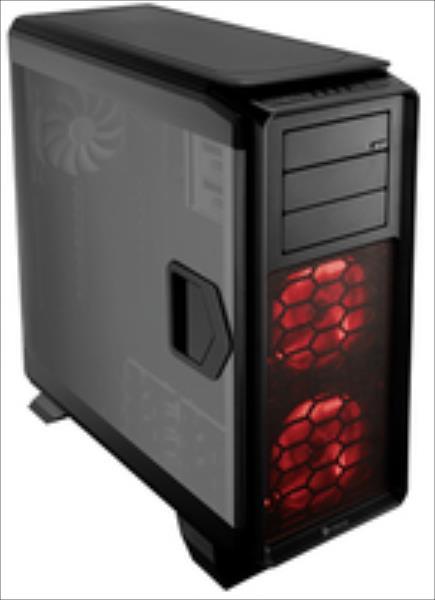 Corsair Graphite Series 760T, Full Tower Case, Black, Windowed Version Datora korpuss