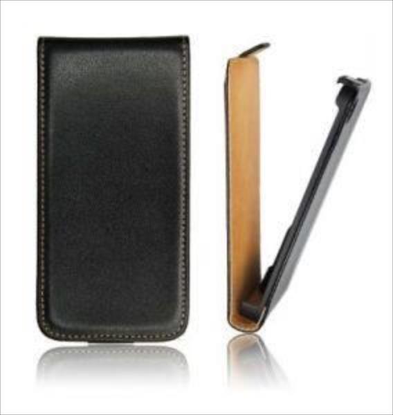 Huawei Y6 black AKS_Y6flip black maciņš, apvalks