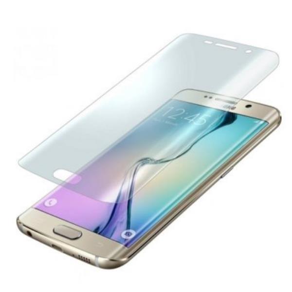 BlueStar Samsung G928FZ Galaxy S6 Edge + ekrāna aizsargplēve Visam ekrānam Glancēta aksesuārs mobilajiem telefoniem