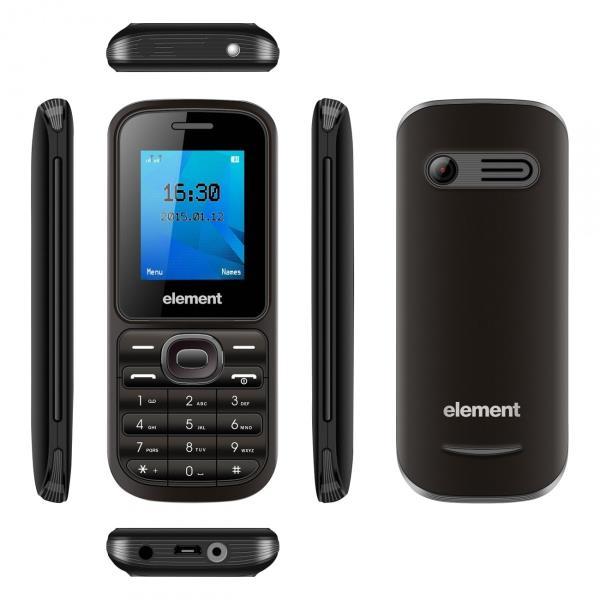 Sencor ELEMENT P002 TFT LCD 1.77,Dual SIM Mobilais Telefons