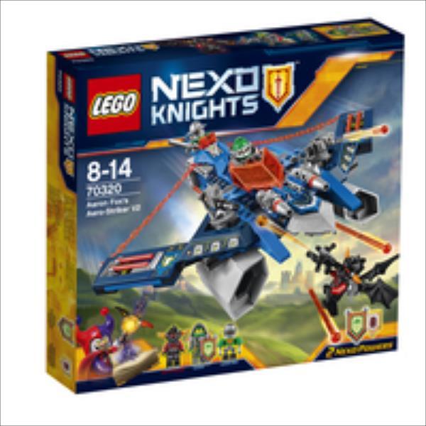 LEGO Aaron Foxs Aero-Striker V2 V29  70320 LEGO konstruktors