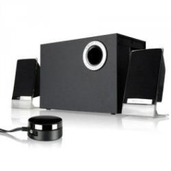Microlab M-200BT Platinum 2.1 Speakers/ Bluetooth 4.0, NFC/ 50W RMS (12Wx2+26W)/ wired Remote Control with MP3 input & Headphone out datoru skaļruņi