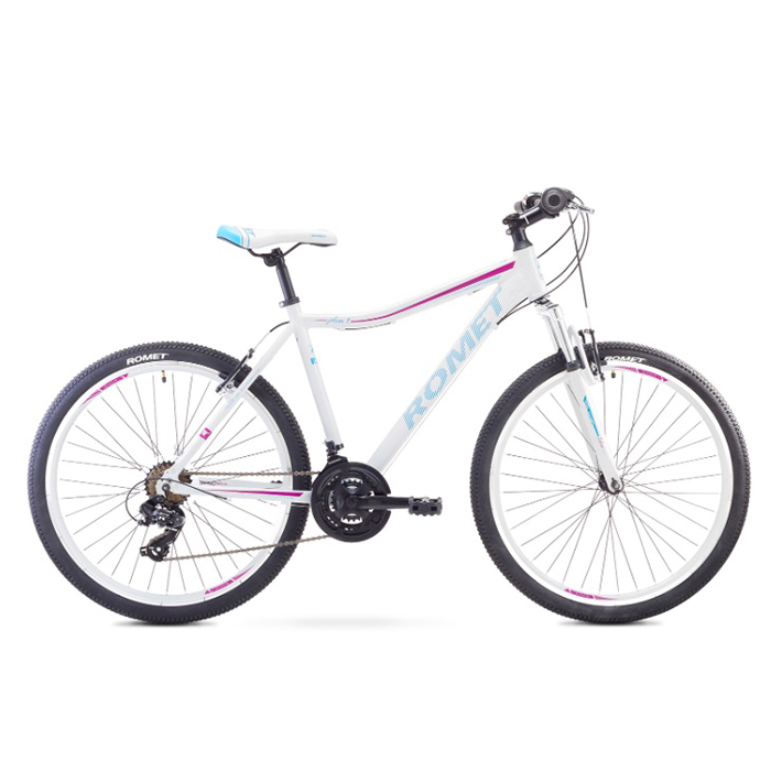 ROMET JOLENE 26 1 MTB 17-M R26 BALTS kalnu velosipēds MTB