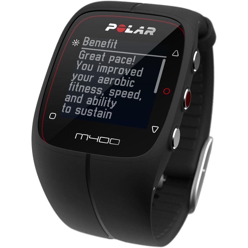 Polar M400 (M400 BLK) sporta pulkstenis