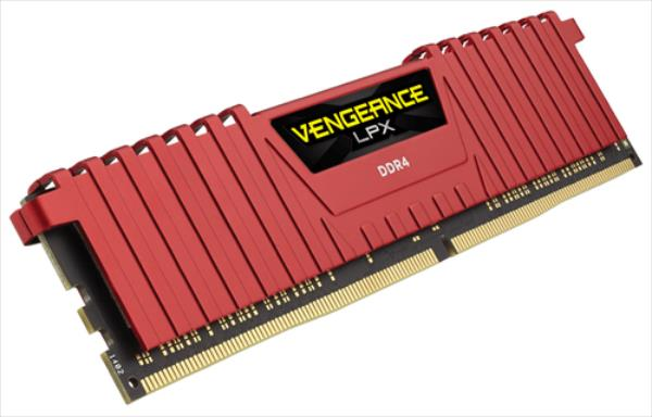 Corsair DDR4 Vengeance LPX Red 8GB 2400MHz PC4-19200 CL14 1.2V operatīvā atmiņa