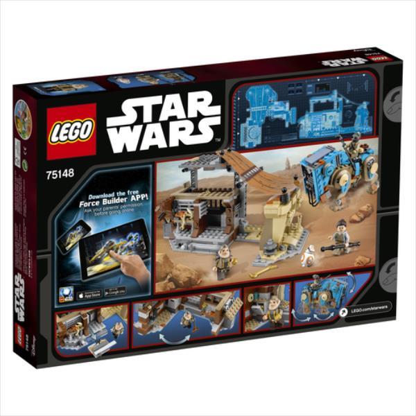 LEGO Encounter on Jakku V29  75148 LEGO konstruktors