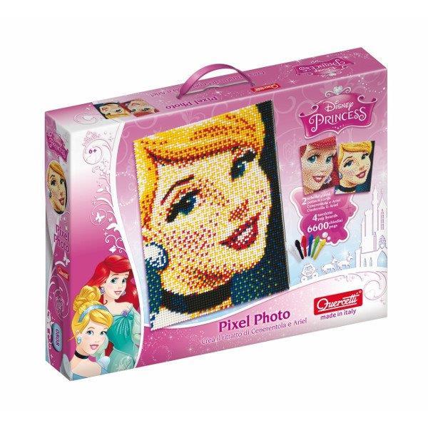 Quercetti Mozaika Pixel Photo Princess 0808 galda spēle