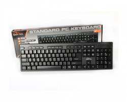 Media-Tech Standard Keyboard USB (MT122KU) wired l black klaviatūra