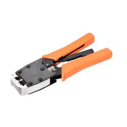 Netrack modular crimping tool RJ45 8p+6p, casted body, pressure control Elektroinstruments