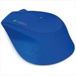 Logitech Wireless Mouse M280, Blue Datora pele