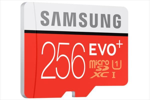 Samsung EVO+ microSDXC 256GB 80/20MB/s UHS-I Class 10 atmiņas karte