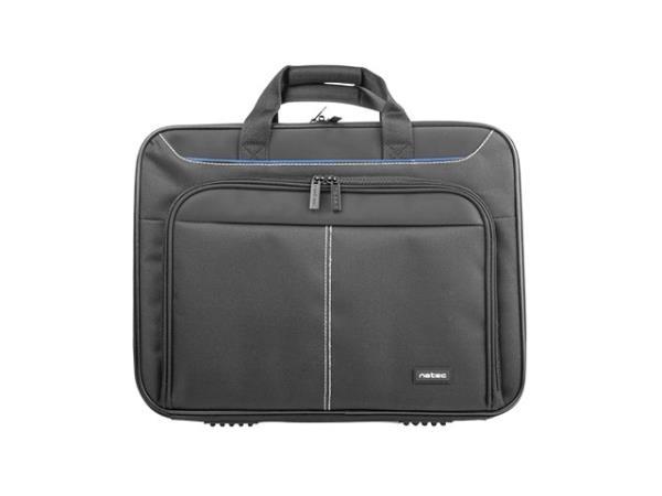 Natec DOBERMAN 15.6'' Black portatīvo datoru soma, apvalks