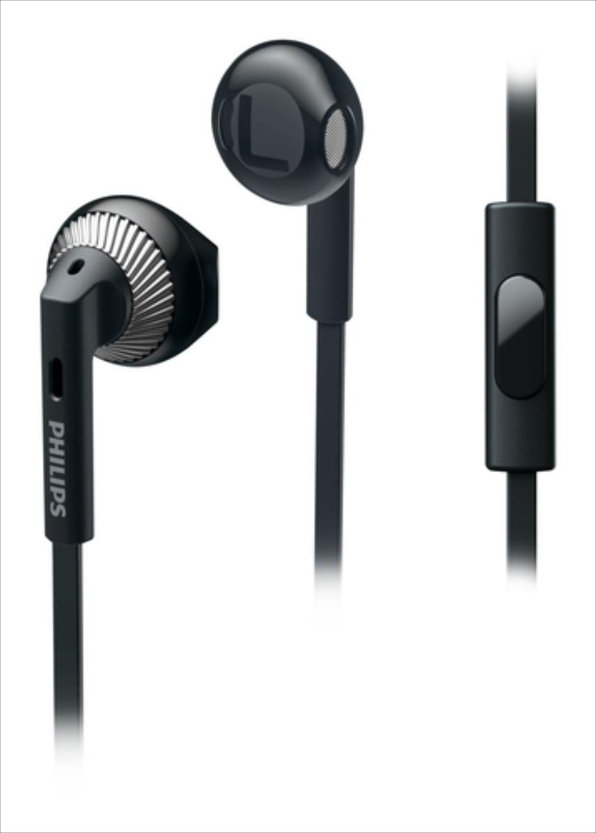 Philips In-Ear Headphones SHE3205BK 14.2mm drivers/ open-back Earbud austiņas