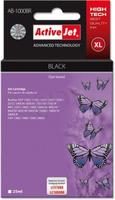 Ink ActiveJet AB-1000BR | black | 25 ml | Brother LC1000BK, LC970BK kārtridžs