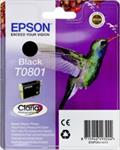 Epson T0801 Ink Cartridge Black kārtridžs