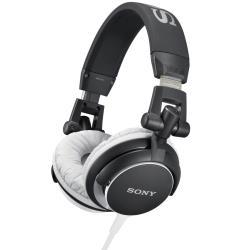 Sony headphones MDR-V55/BR  Closed, 40mm driver unit, 105 dB/mW sensitivity, Black austiņas