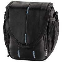 HAMA 'CANBERRA' CAMERA   BAG 100 BLACK/BLUE soma foto, video aksesuāriem