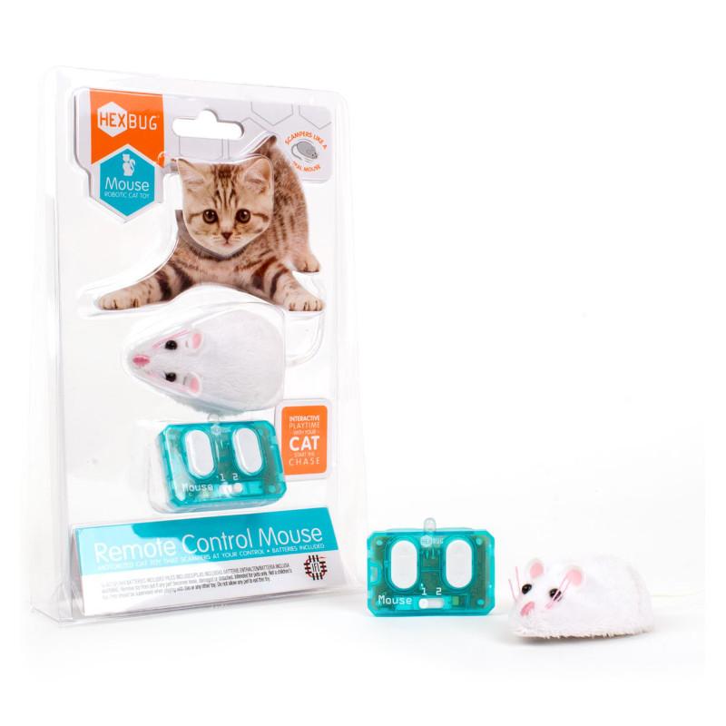 Hexbug pele- kaķu rotaļlieta balta piederumi kaķiem