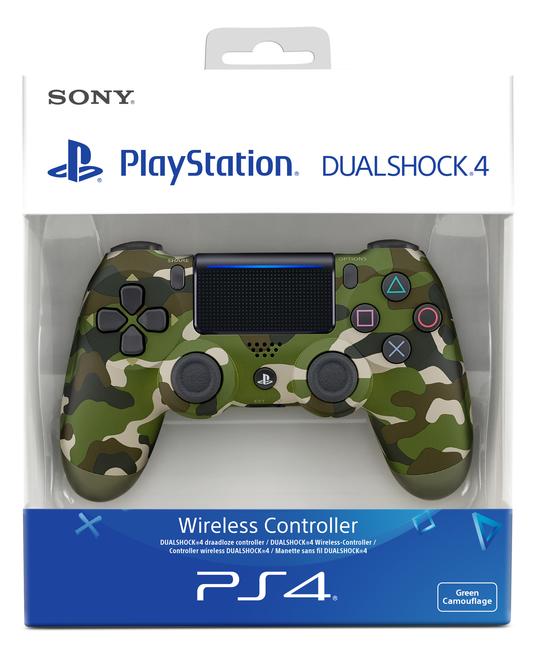 Sony Dualshock 4 Wireless Controller v2 green cammo (PS4) spēļu konsoles gampad