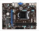 MSI MB 1150 m-ATX H81M-E33 pamatplate, mātesplate