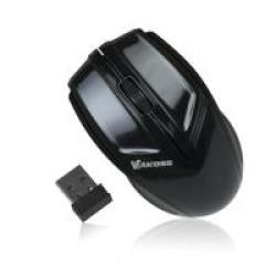 Vakoss TM-687UK Black 1600dpi Optisk bezvadu datorpele Datora pele