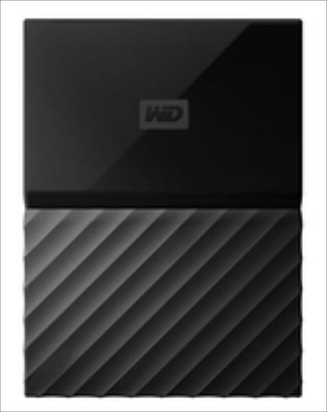 External HDD WD My Passport 2.5'' 1TB USB 3.0 Black Ārējais cietais disks