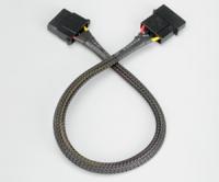 4pin Molex PSU cable     extension AK-CBPW02-30 kabelis, vads