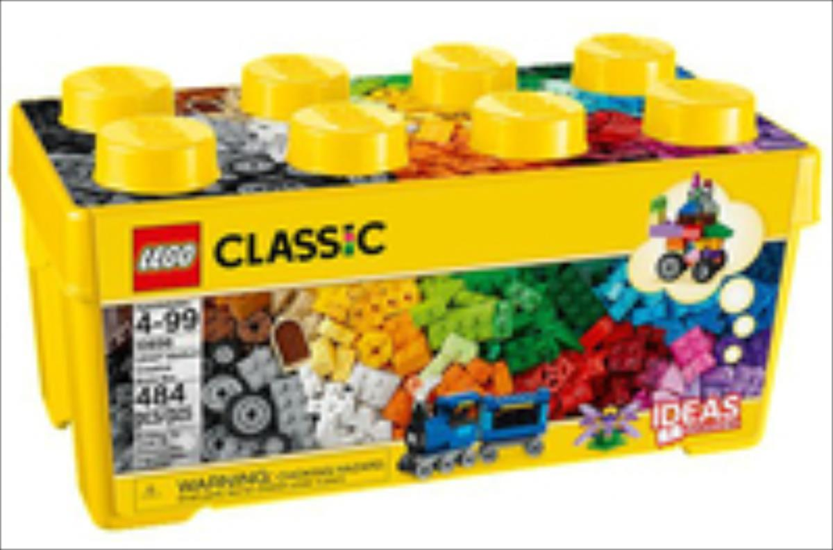 LEGO Classic Medium Crea Brick Box 10696 LEGO konstruktors