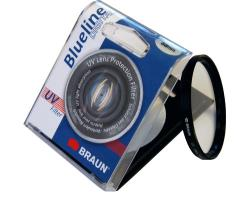 Optical filter BRAUN  Blueline UV 77mm UV Filtrs