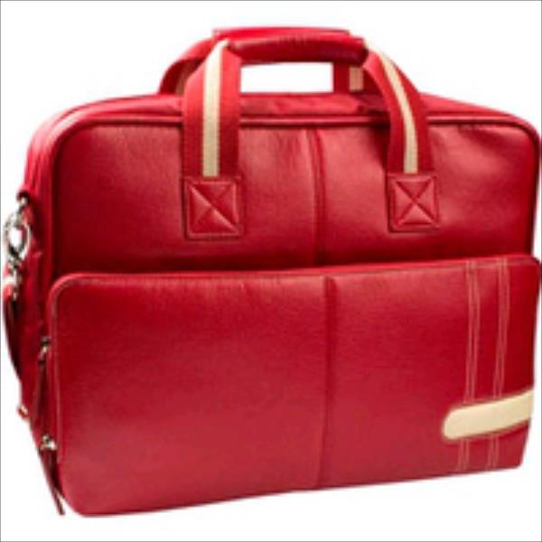 Krusell  Gaia Laptop Bag 18 Red portatīvo datoru soma, apvalks