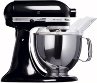 KitchenAid 5KSM150PSEOB Artisan Black Virtuves kombains