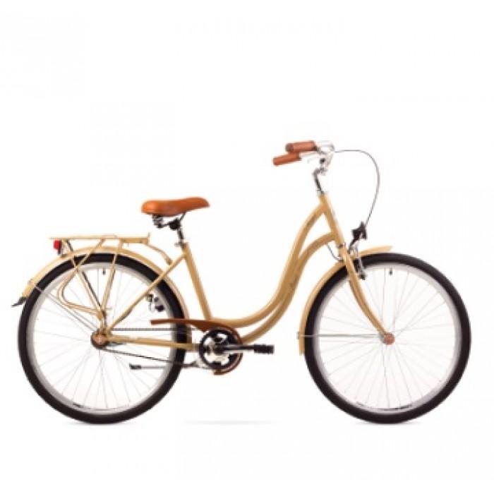 ROMET ANGEL 28 CITY 19-M R28 KAPUČĪNO Pilsētas velosipēds