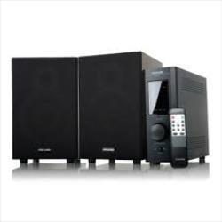 Microlab PRO1 2.0 Speakers/ 60W RMS (30W+30W)/ Remote Control/ Amplifier/ Dark Wood datoru skaļruņi