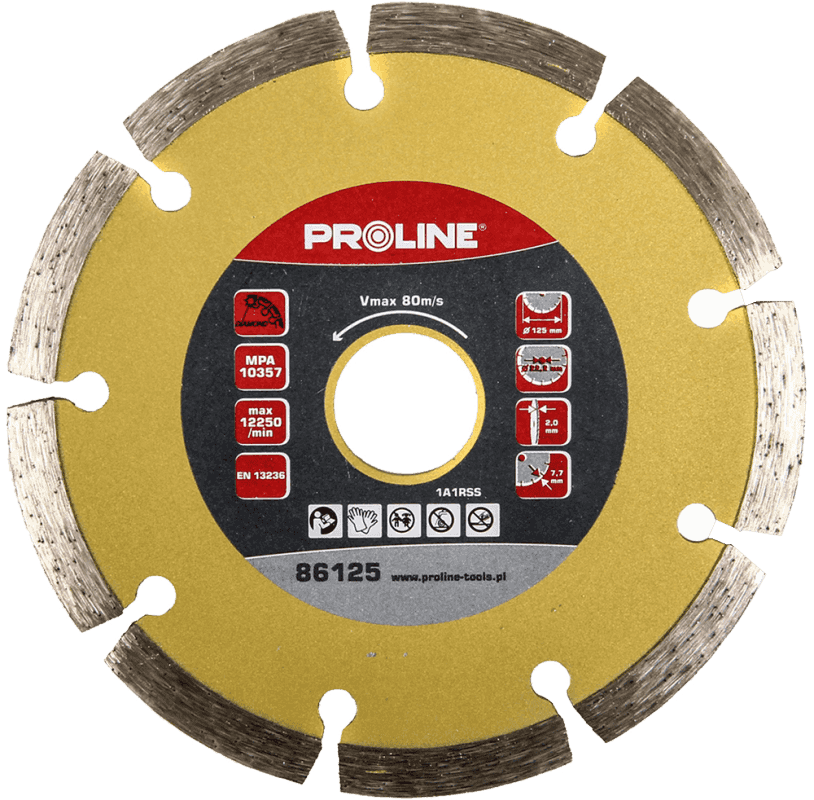 Proline Dimanta disks PSG 125x22mm betonam