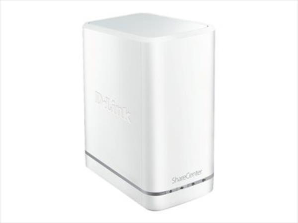 D-Link Sharecenter+ 2-Bay Cloud Network Storage Enclosure,  SATA I/II, USB 3.0 Ārējais cietais disks
