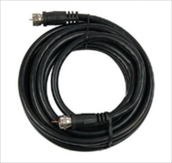 Gembird RG6 Coaxial antenna cable with F-connectors, 1.5M, black kabelis