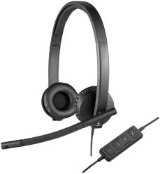 Logitech USB Headset H570e - Headset austiņas