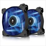 Corsair Case Fan AF120 Quiet Edition 120mm Blue CO-9050016-BLED dzesētājs, ventilators
