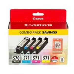 Canon PGI-570/CLI-571 PGBK/BK/C/M/Y Multi Pack OP0372C004 kārtridžs