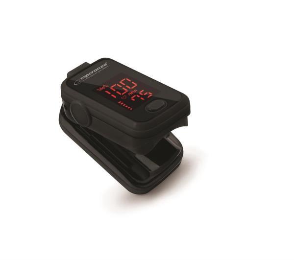 Esperanza ECO001 Finger pulse oximeter OYYGEN sporta pulkstenis, pulsometrs