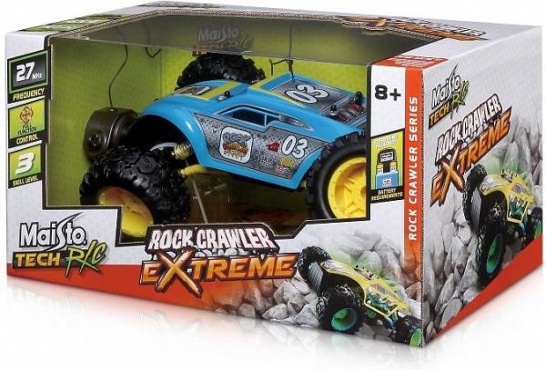 Maisto Rock Crawler Exteme R/C Yellow  (GXP-559867) Radiovadāmā rotaļlieta