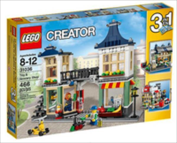 LEGO Toy & Grocery Shop  31036 LEGO konstruktors